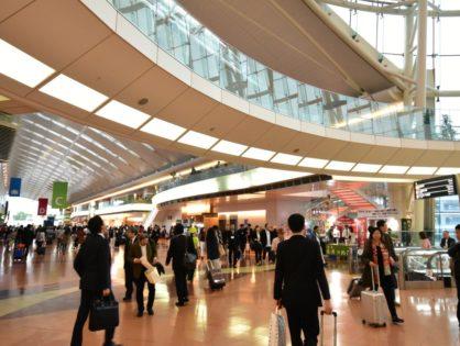 羽田空港でPR活動を行いました