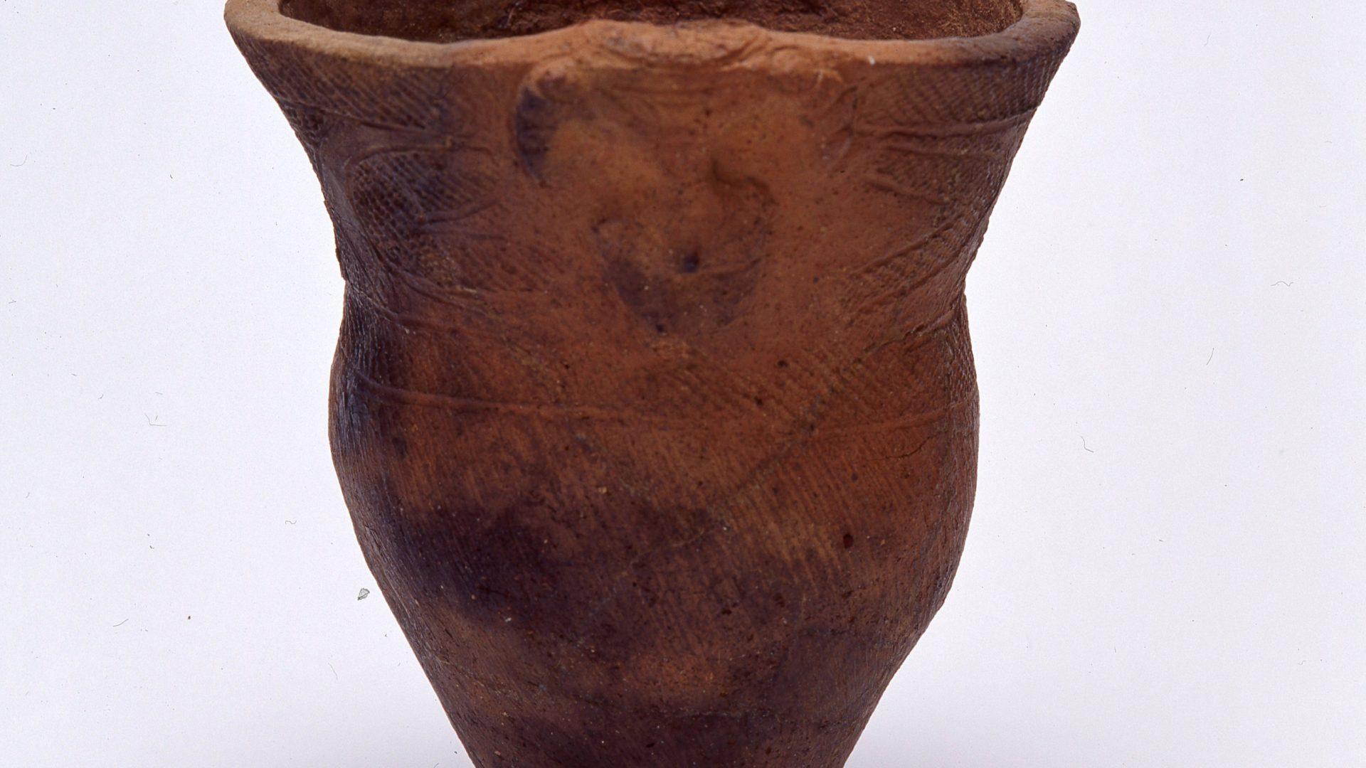【土器】さいたま市・馬場小室山遺跡出土 土偶装飾土器
