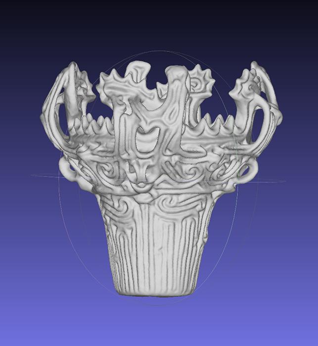 火焔土器3Dデータ