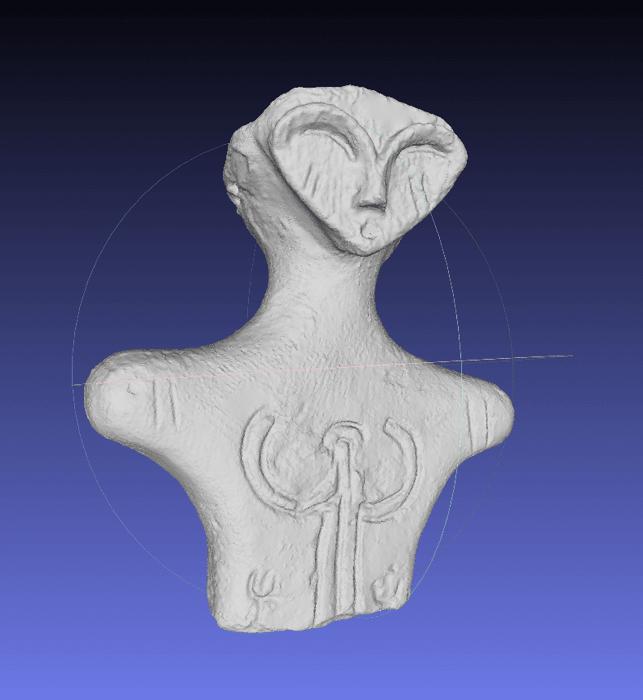 土偶ミス馬高3Dデータ